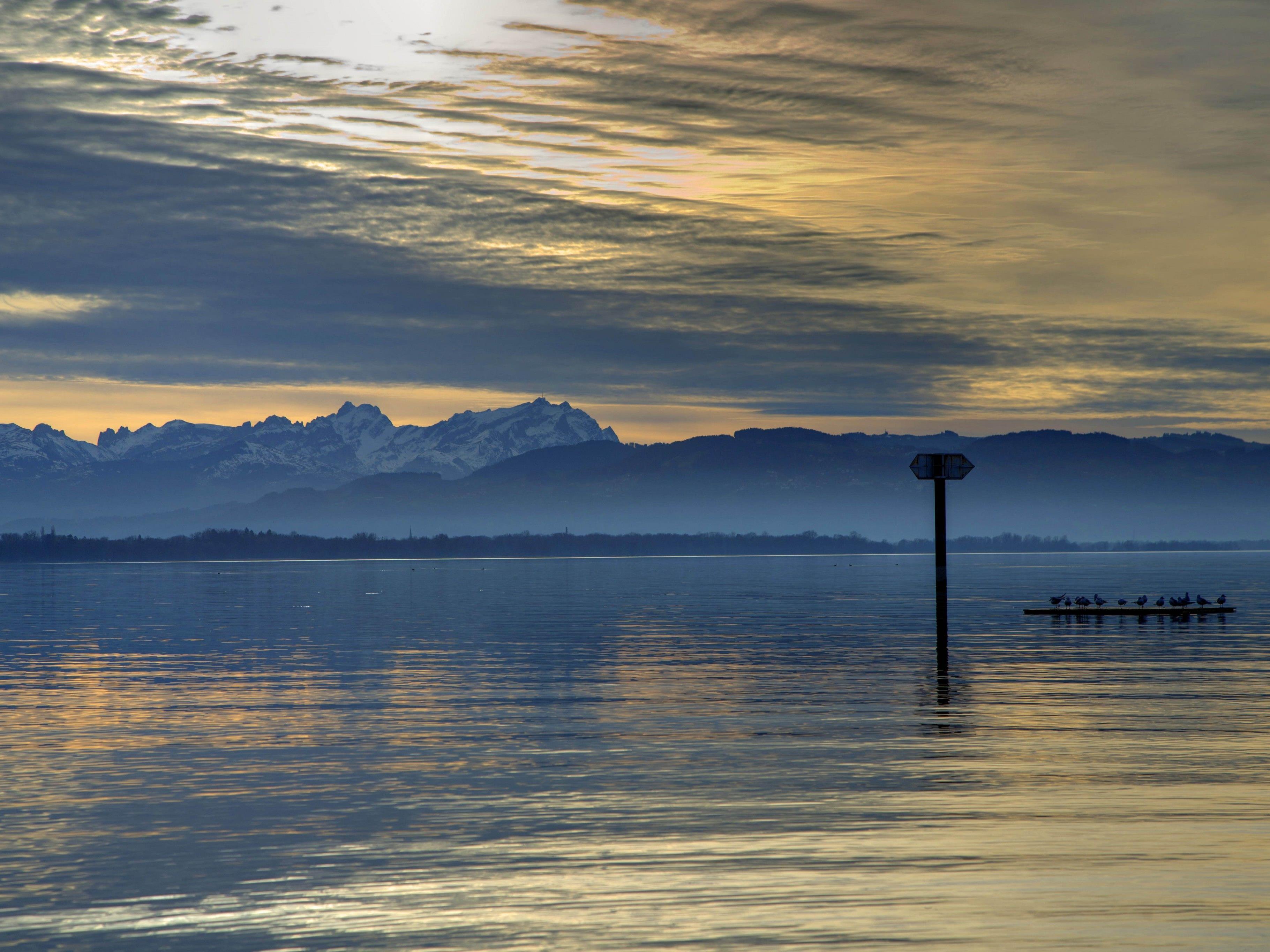 Der Bodensee ist offenbar weniger tief als bislang angenommen.