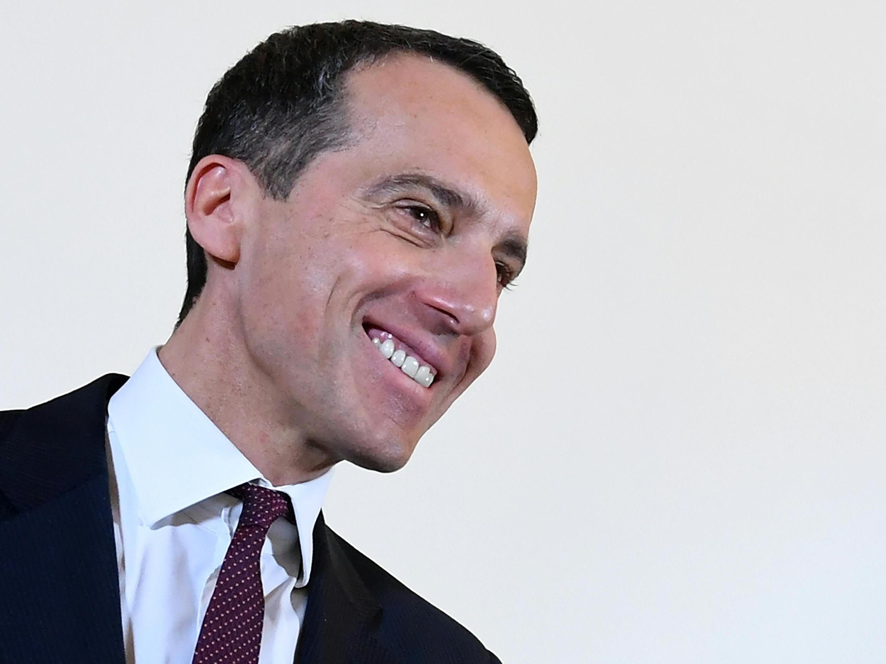"""Kern und seine SPÖ hoffen auf ein komplett neues """"Farbenspiel""""."""