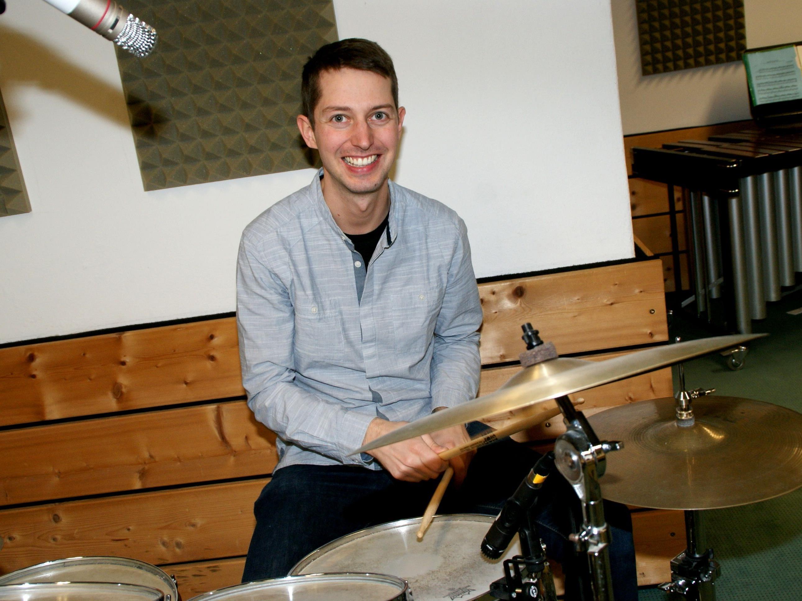 Thomas Büchel unterrichtet an der Musikschule Feldkirch