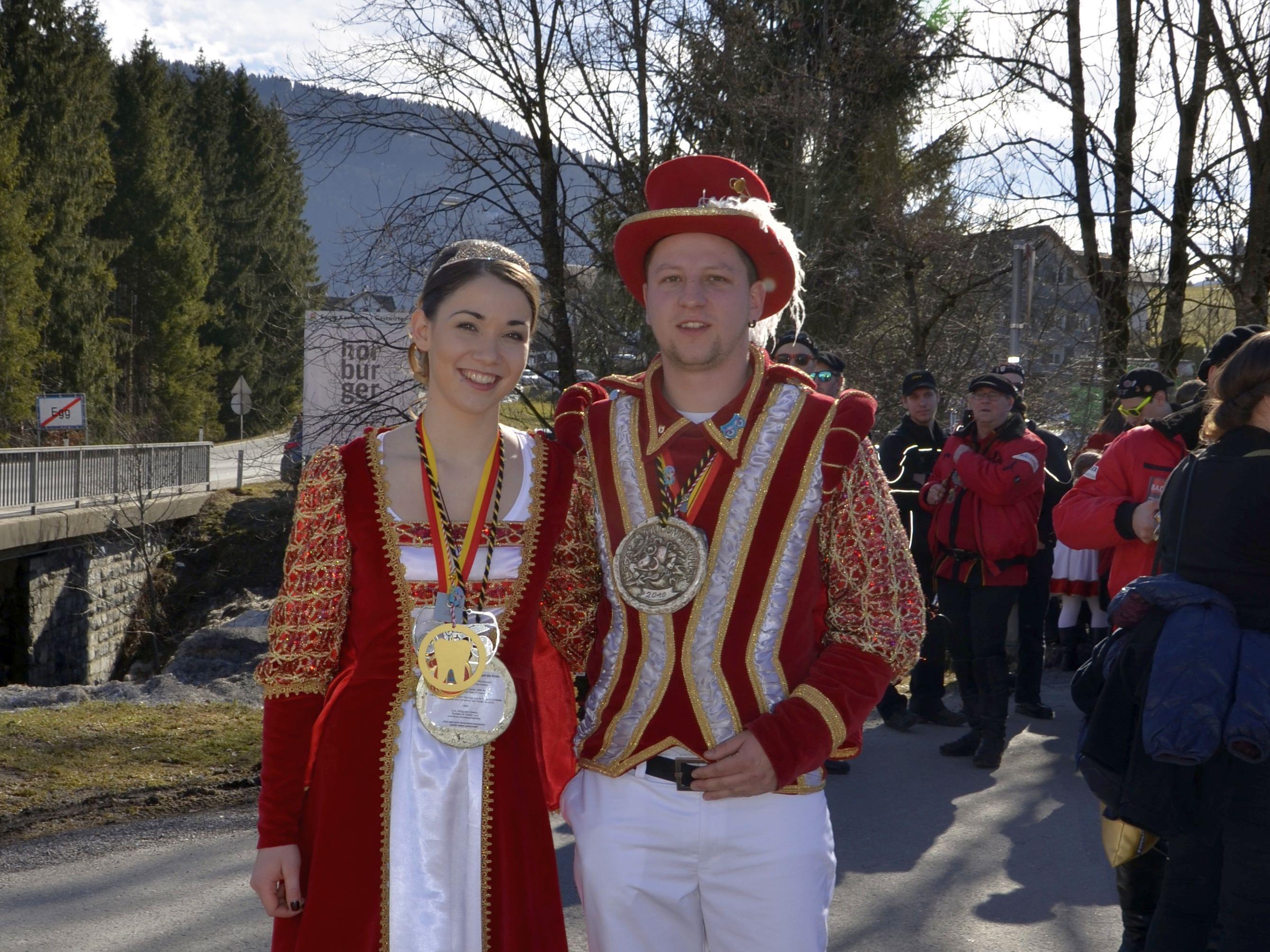 Prinzessin Margot I. und Prinz Lukas I.