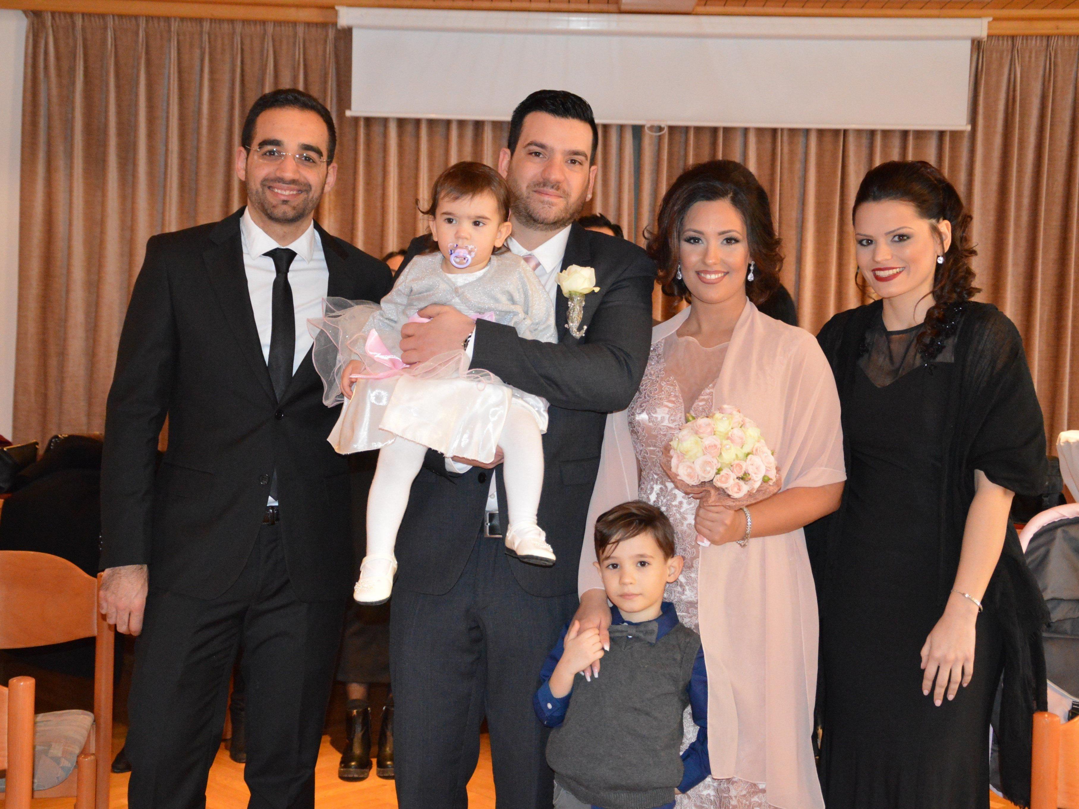 Sabrina Donadeo und Guiseppe Capo haben geheiratet