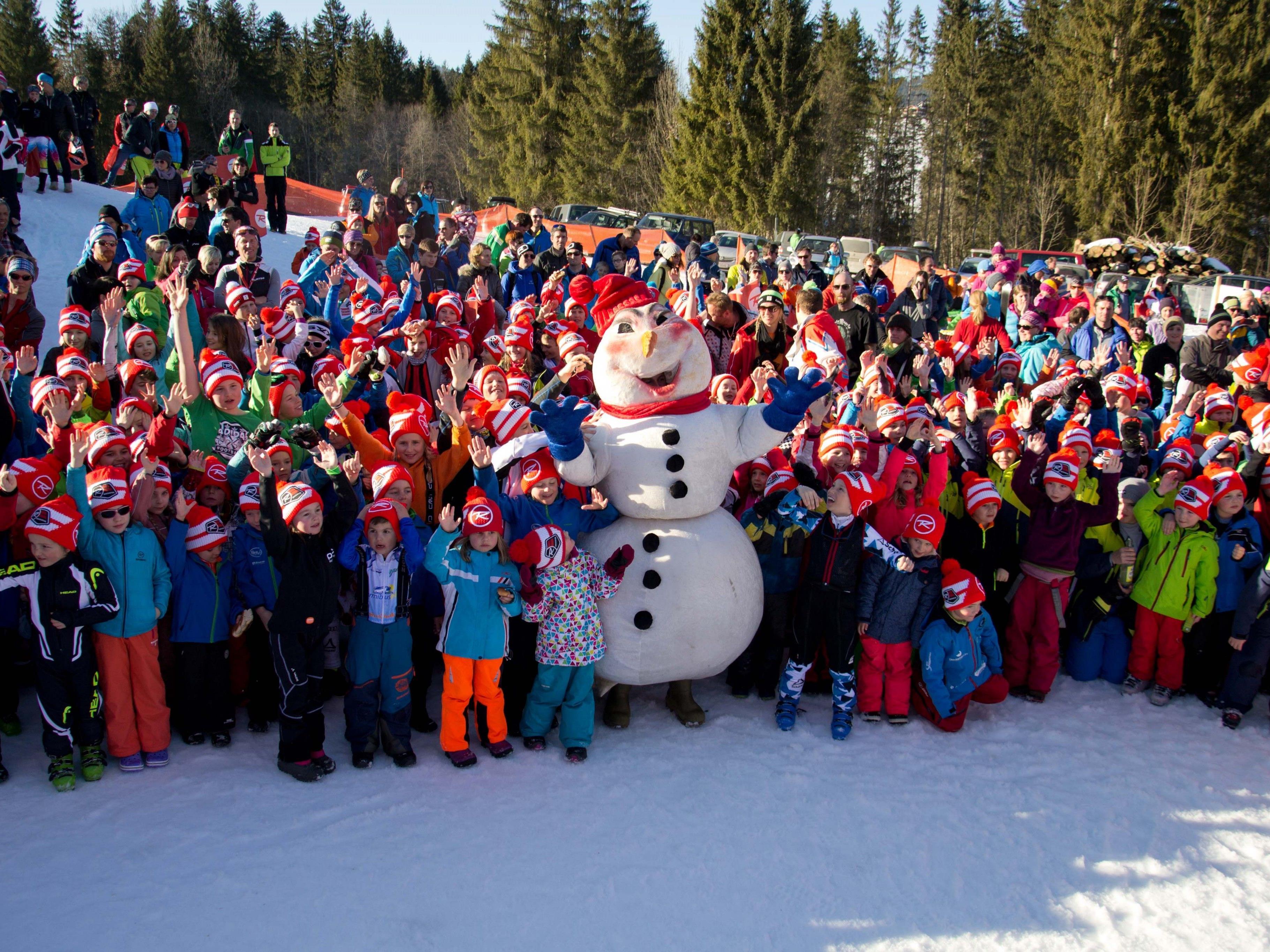 Das Rossignol Kids Race in Sibratsgfäll war für Teilnehmer und Organisatoren ein Riesenerfolg.