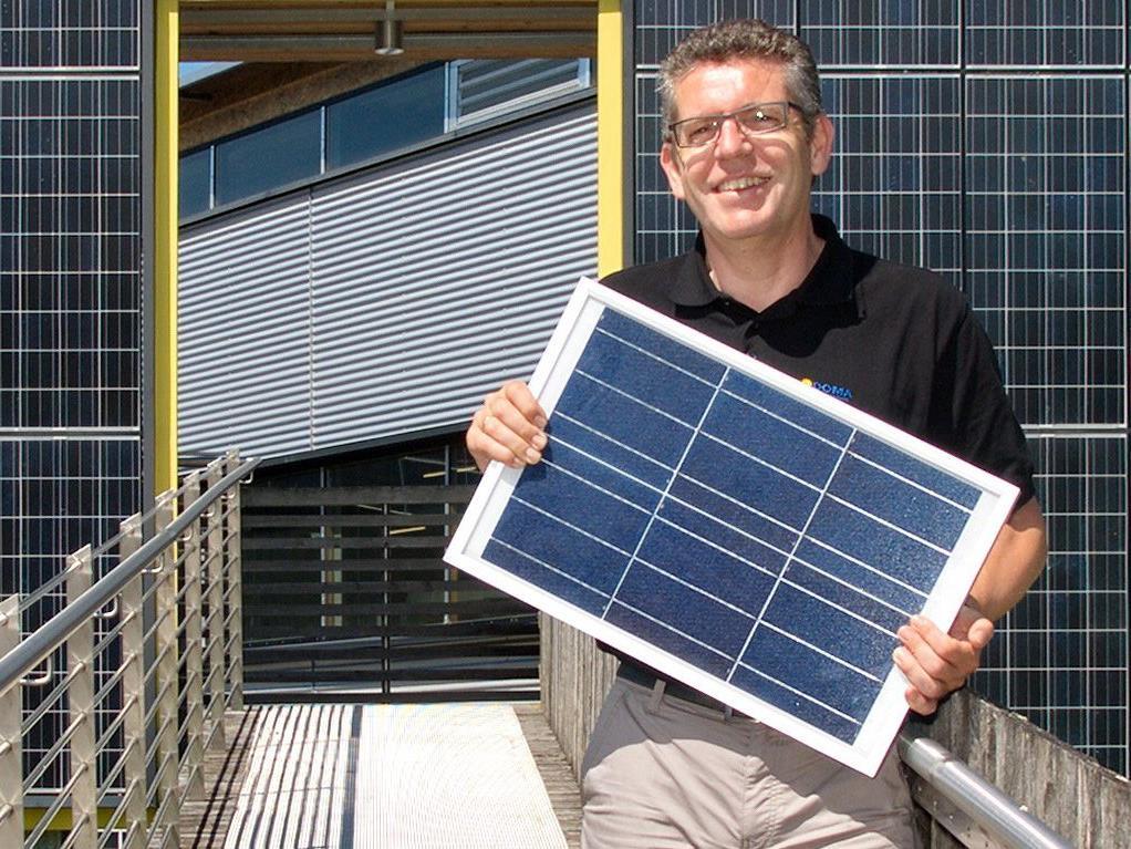 Ernst Bertsch, Geschäftsführer DOMA Solartechnik GmbH
