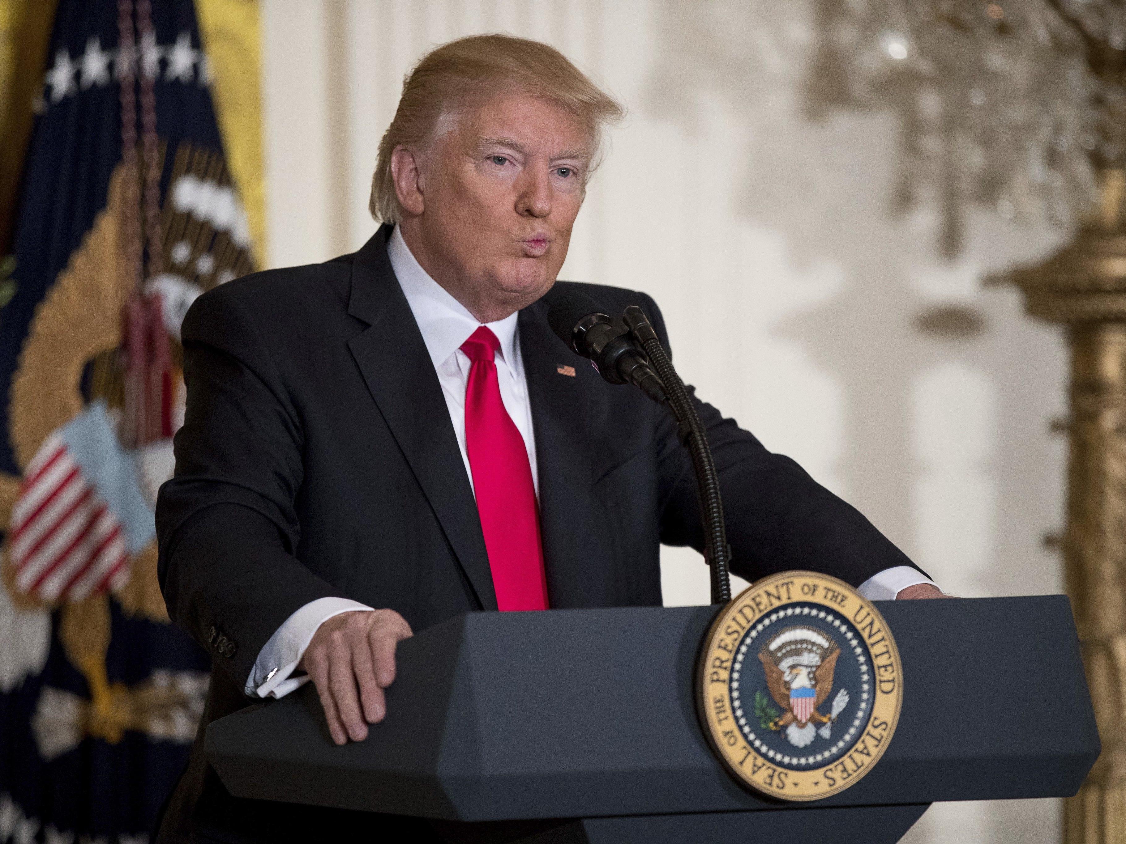 Wird Trump seine Außenpolitik nach den Mahnungen überdenken?