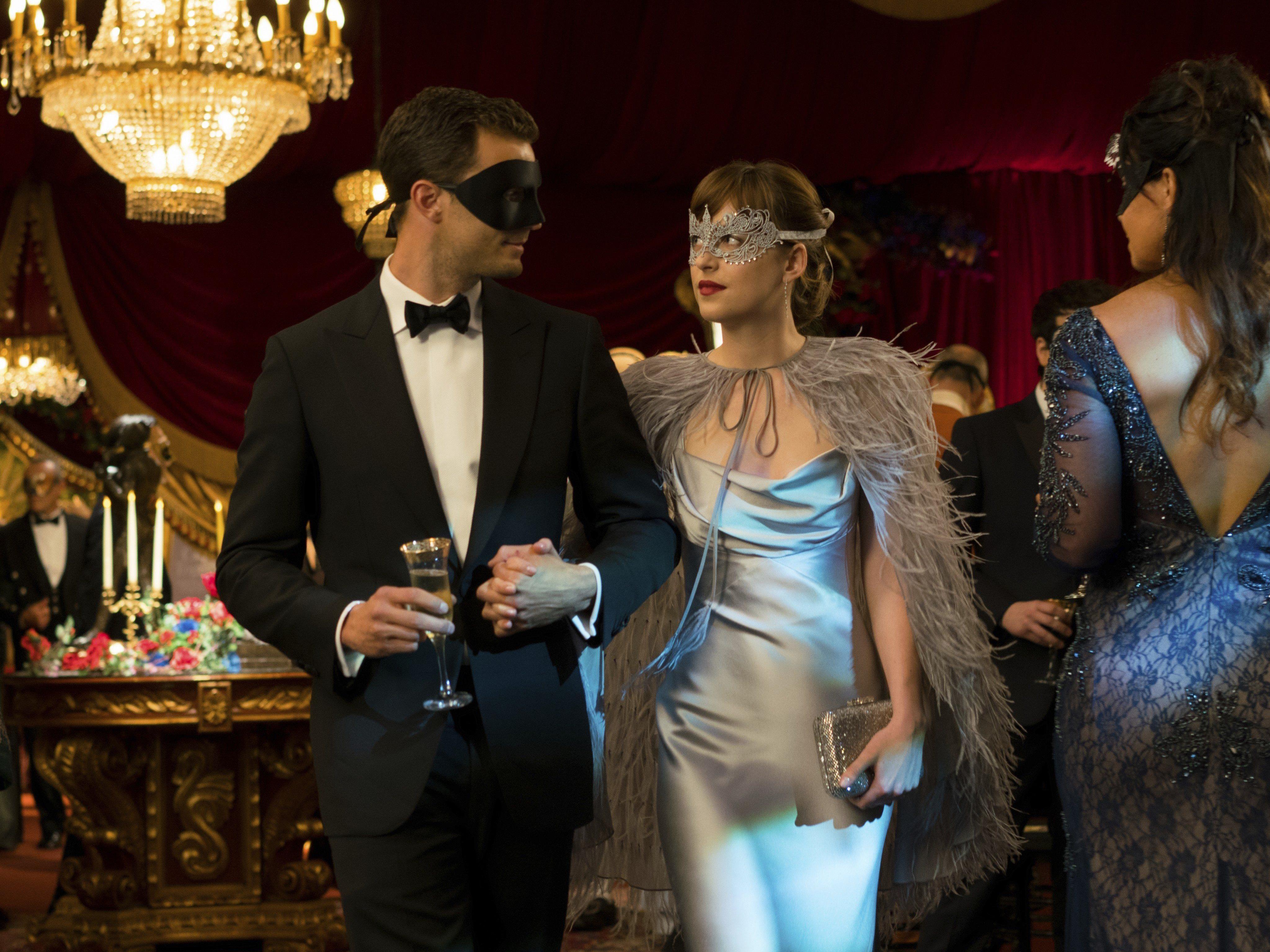 Hauptdarsteller Jamie Dornan und Dakota Johnson im Interview.