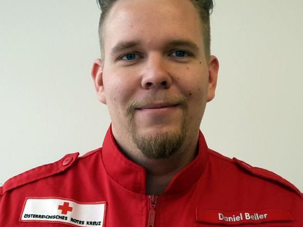 Der neue Götzner RK-Ortsstellenleiter Daniel Beller.