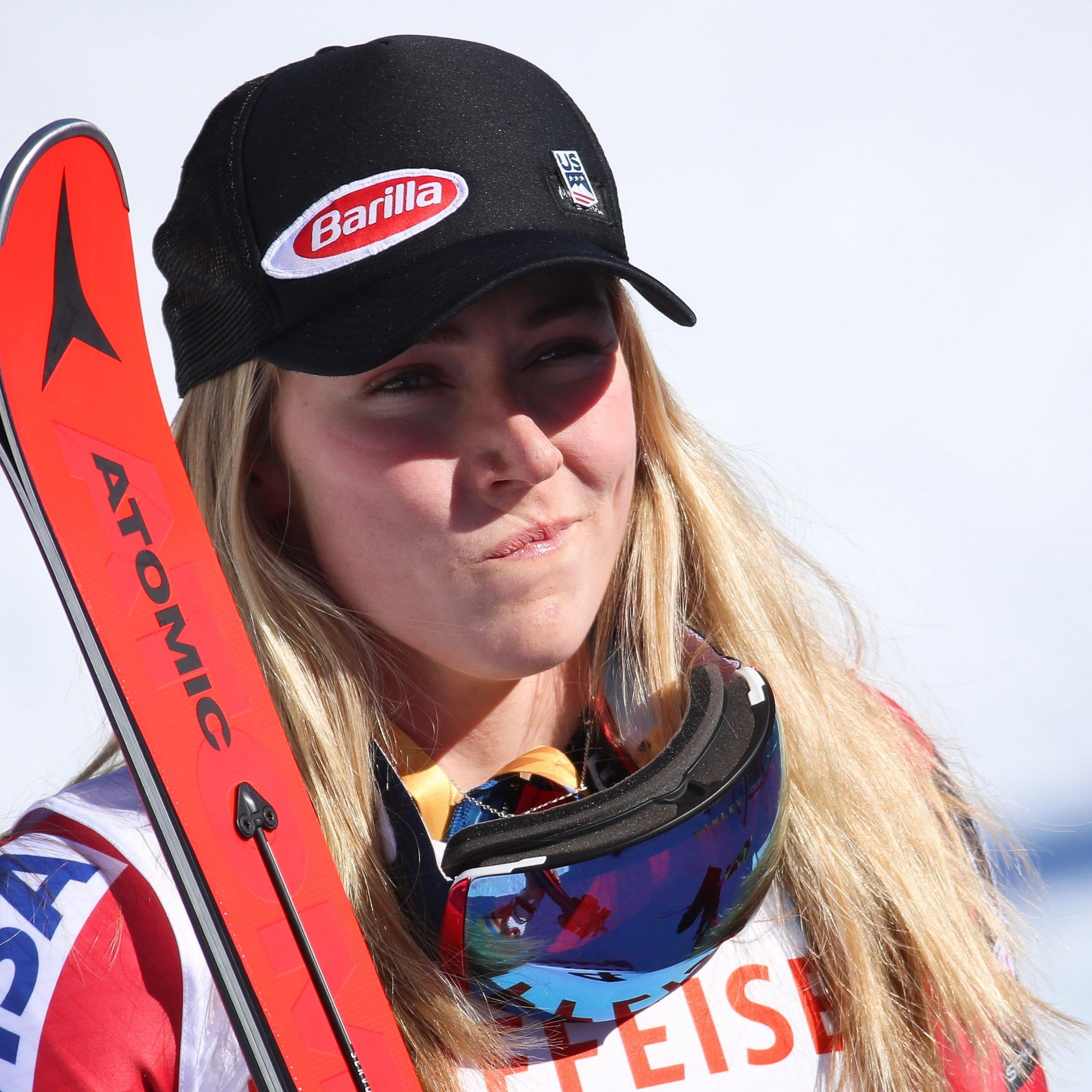 Im WM-Slalom machen alle Jagd auf Mikaela Shiffrin.