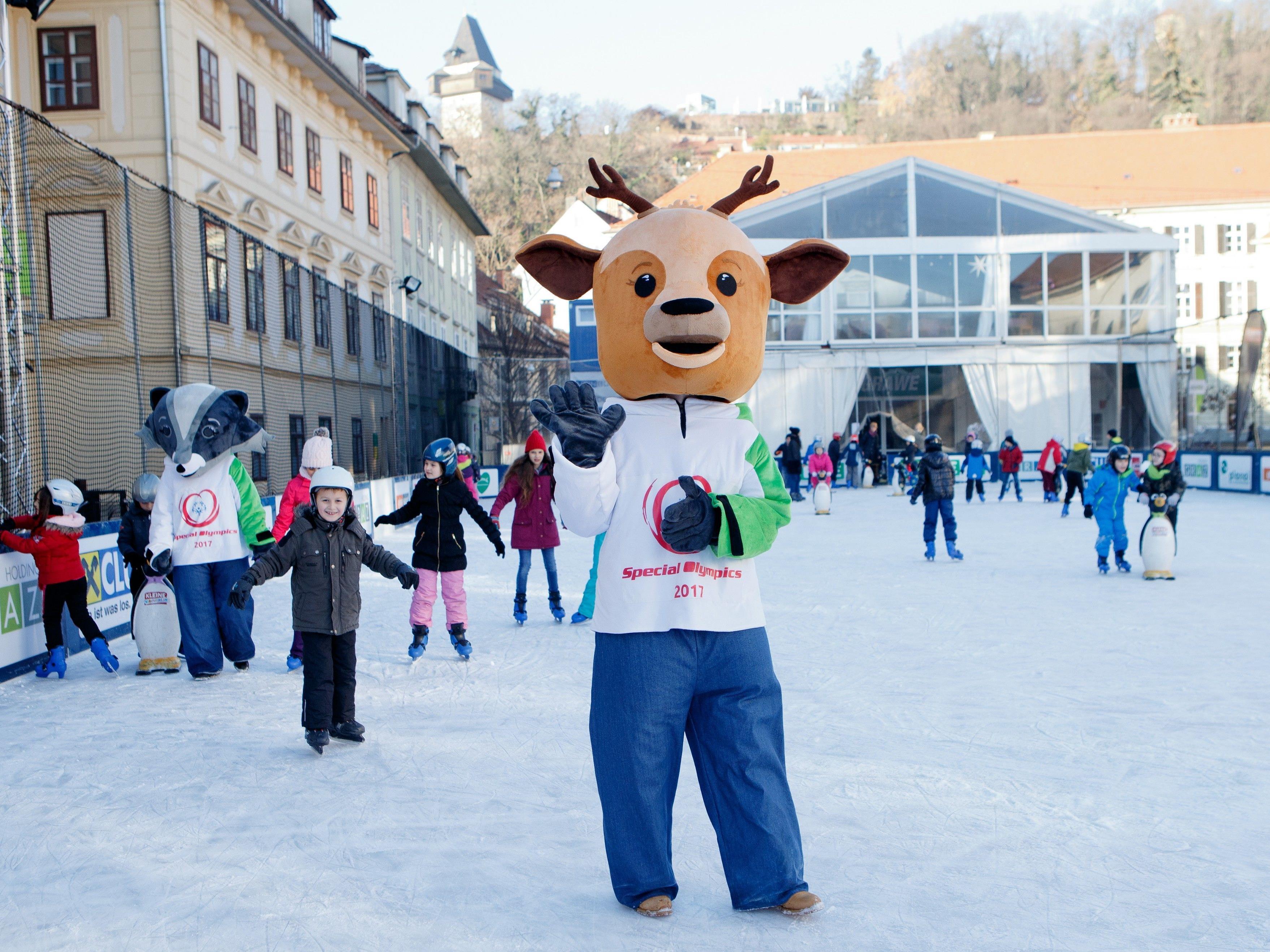 Am 14. März starten die Special Olympics.