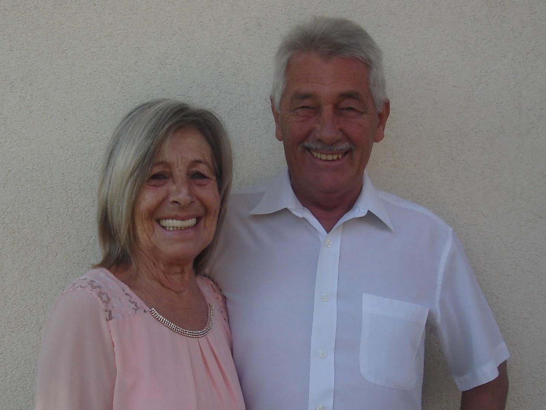 Margret und Peter Moosmann genießen jeden Tag.