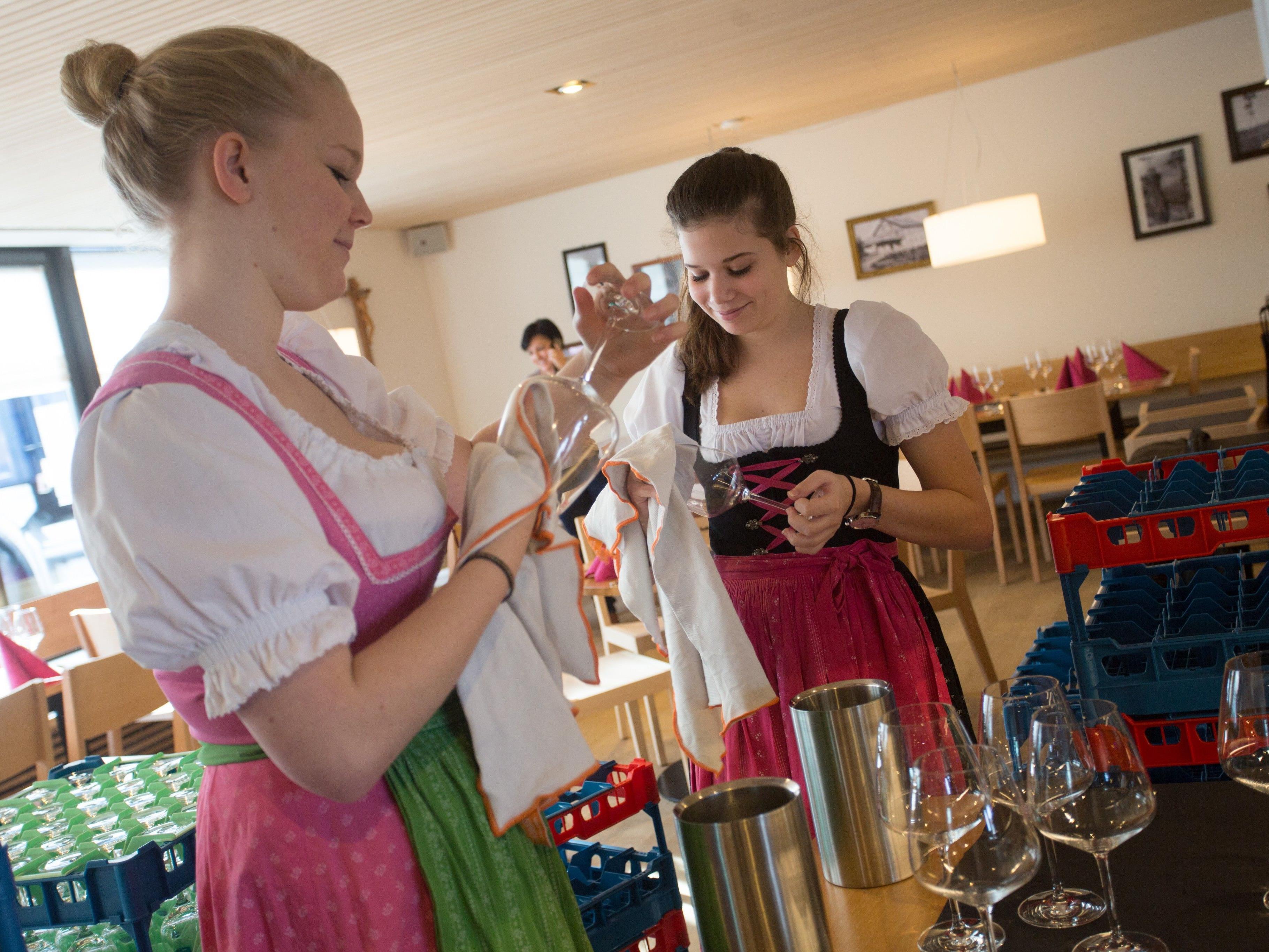 Stornogebühren in der GAstronomie dürften in Vorarlberg vorerst nicht drohen.