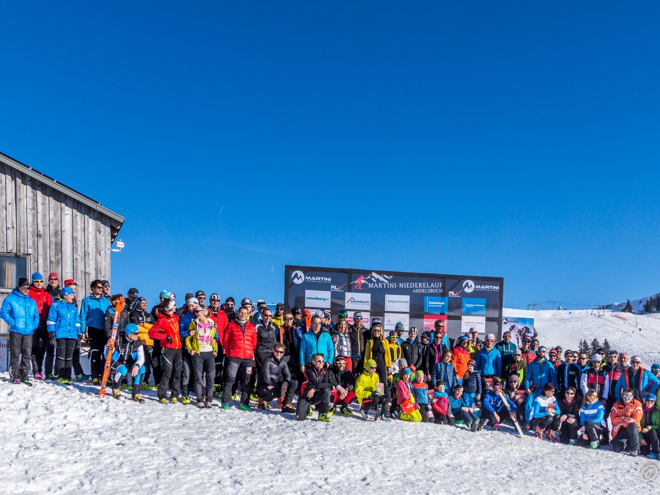 Martinilauf 2017 Gruppenbild