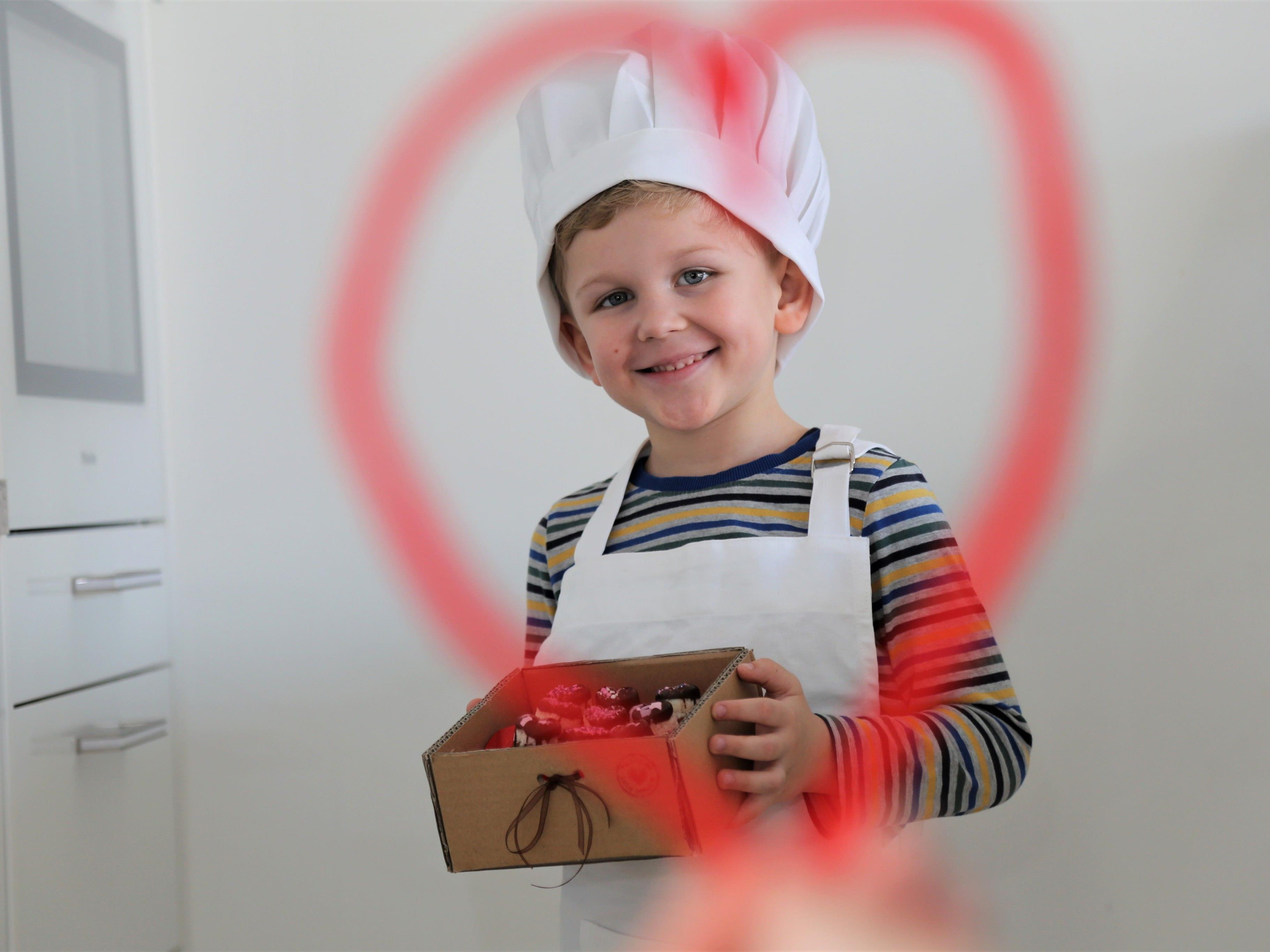 Alles Liebe zum Valentinstag wünscht dir Kinderreporter Jason Durell.