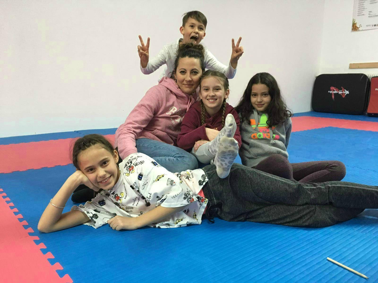 Die Kids des Kenpokarateklubs hatten ihren Spaß.