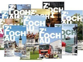 """Die Lochauer haben wieder die Möglichkeit, auch ihr neues Gemeindemagazins """"Z´LOCHAU – Informationen aus unserem Dorf"""" zu einem Sammelband binden zu lassen."""