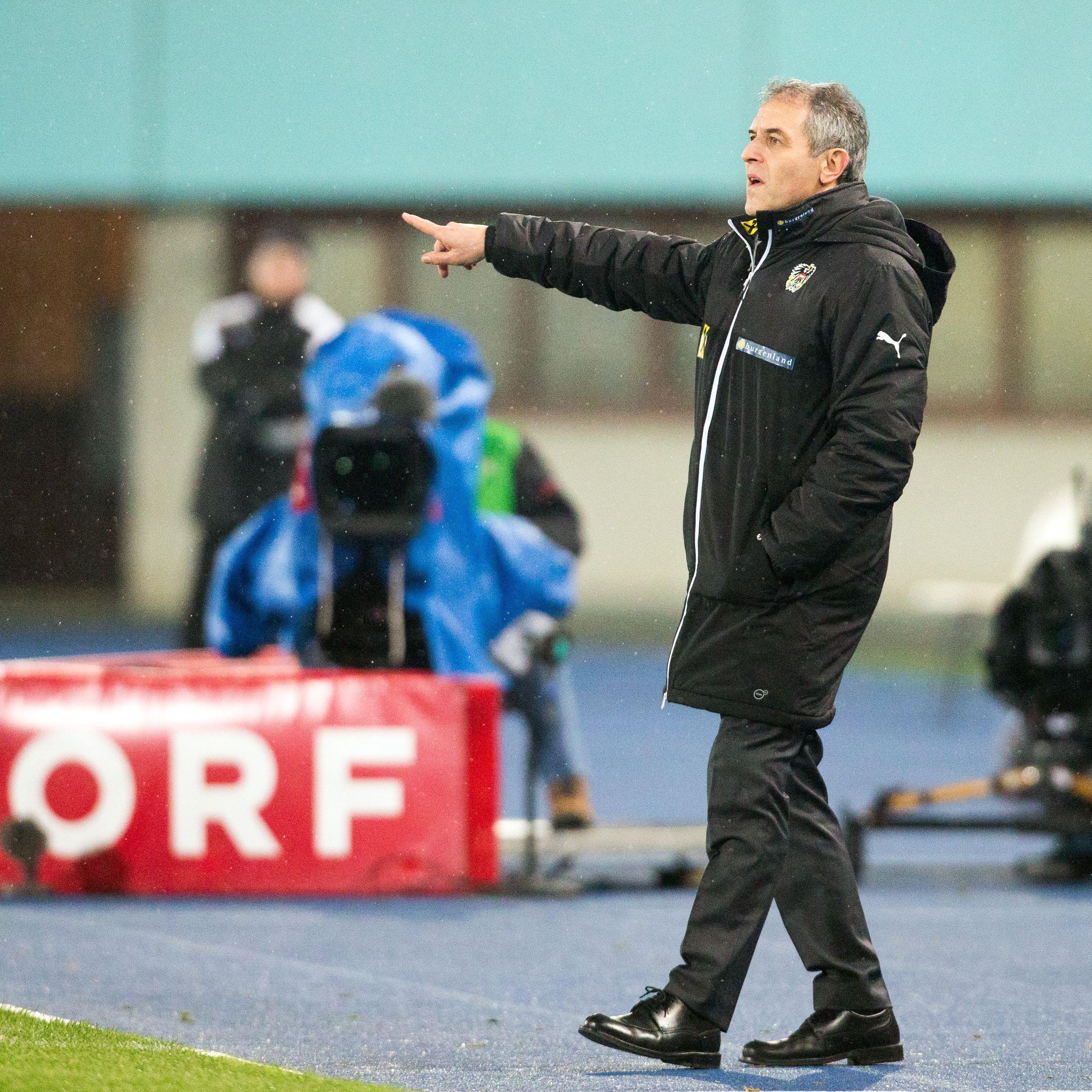 Das ÖFB-Team um Trainer Marcel Koller rutschte in der Fifa-Weltrangliste auf PLatz 34 ab.