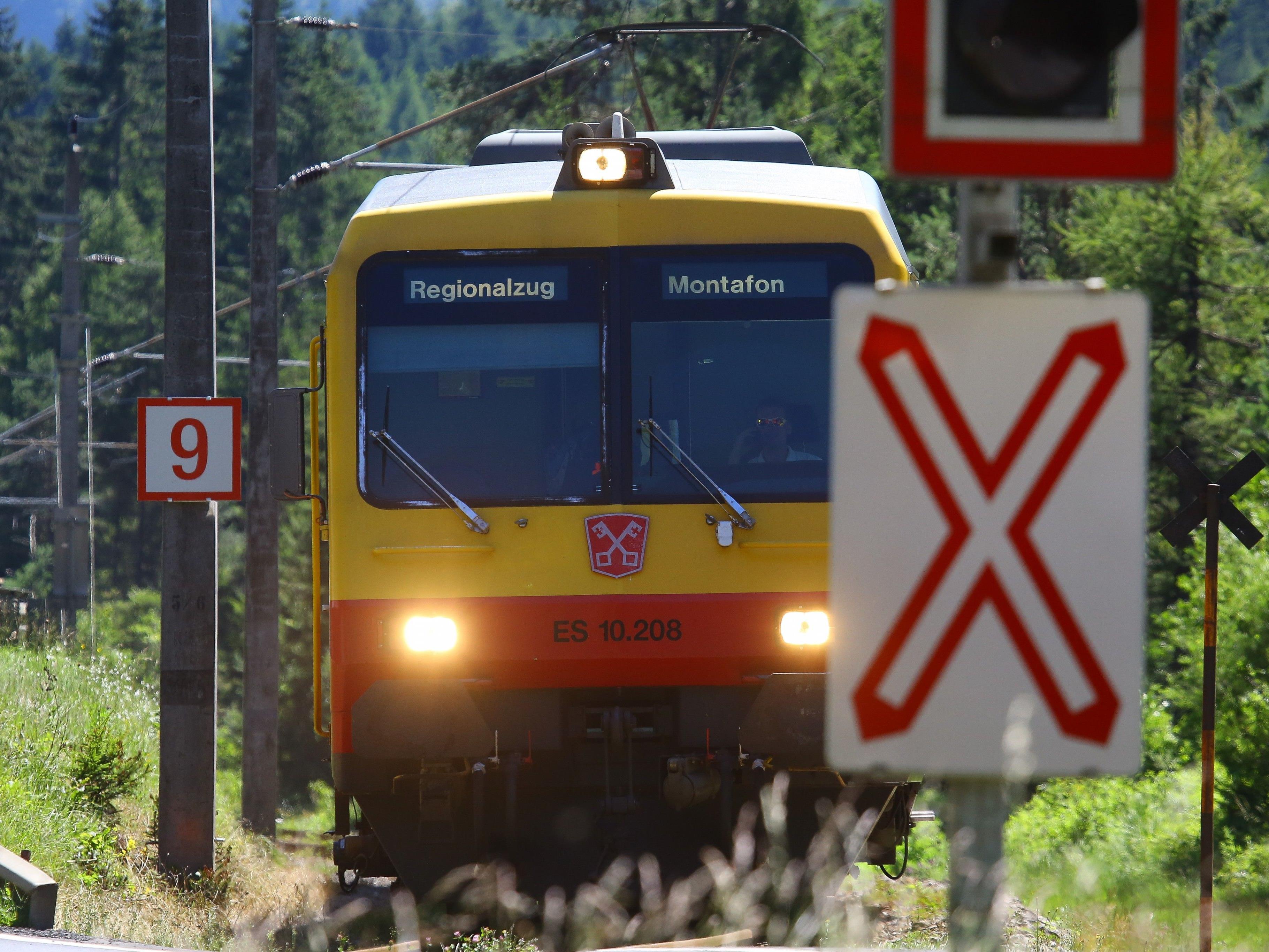 Bis 2019 wird an der Montafonerbahn gearbeitet.