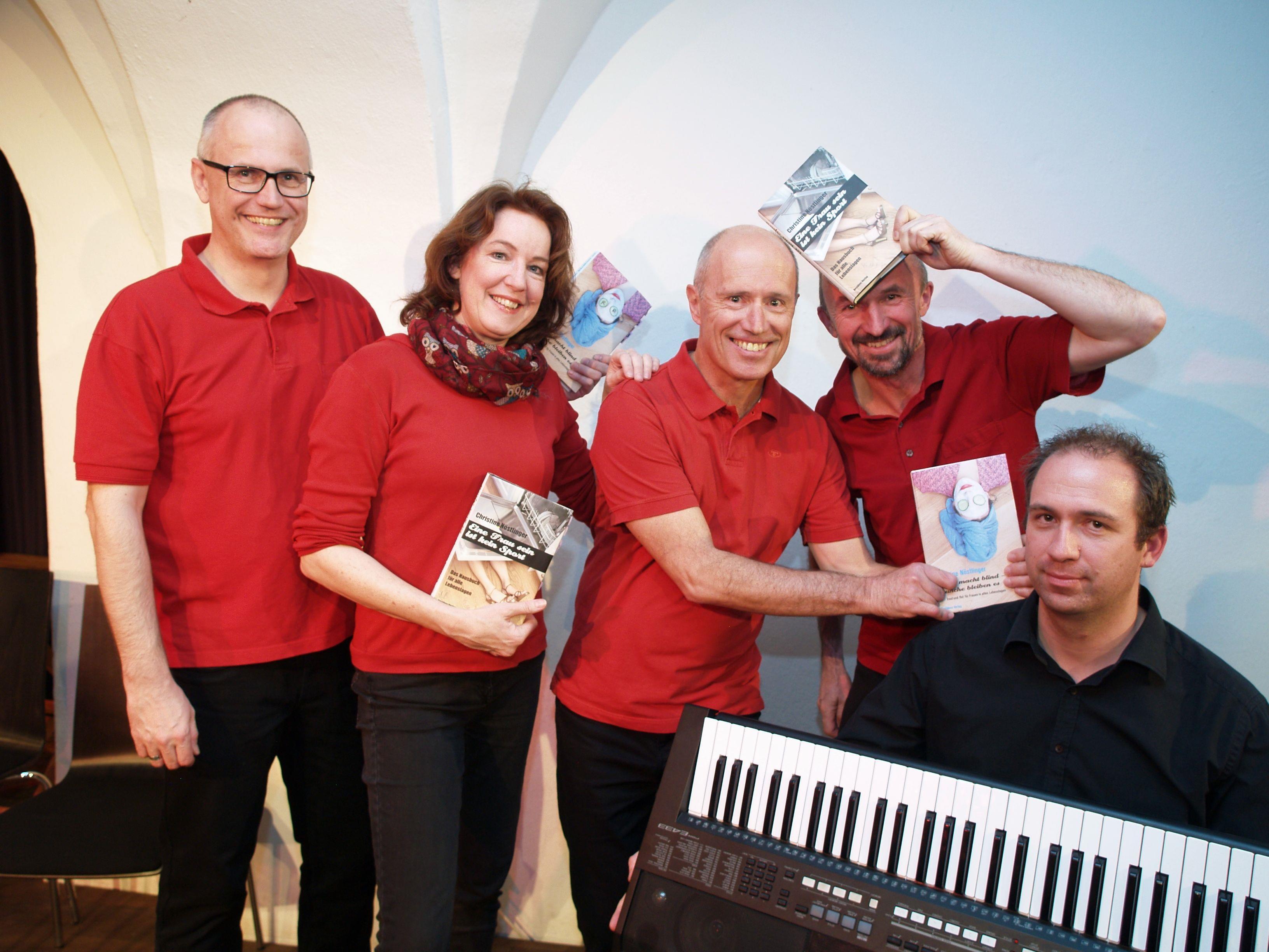 Harald Kuntschik, Renee Lormans, Paul Ender, Paul Sandholzer und Matthias Gmeiner