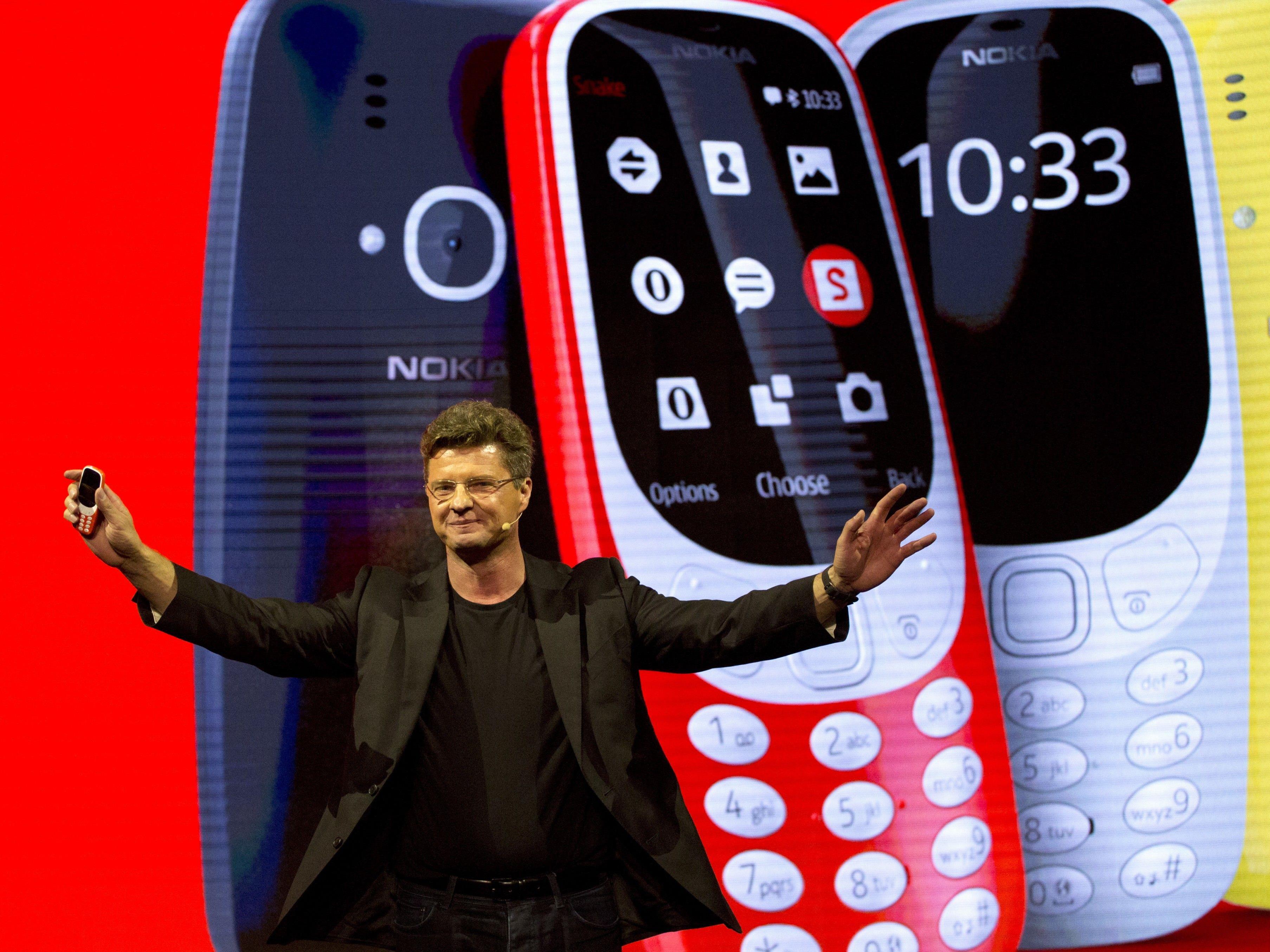 Das neue 3310 wurde in Barcelona präsentiert.