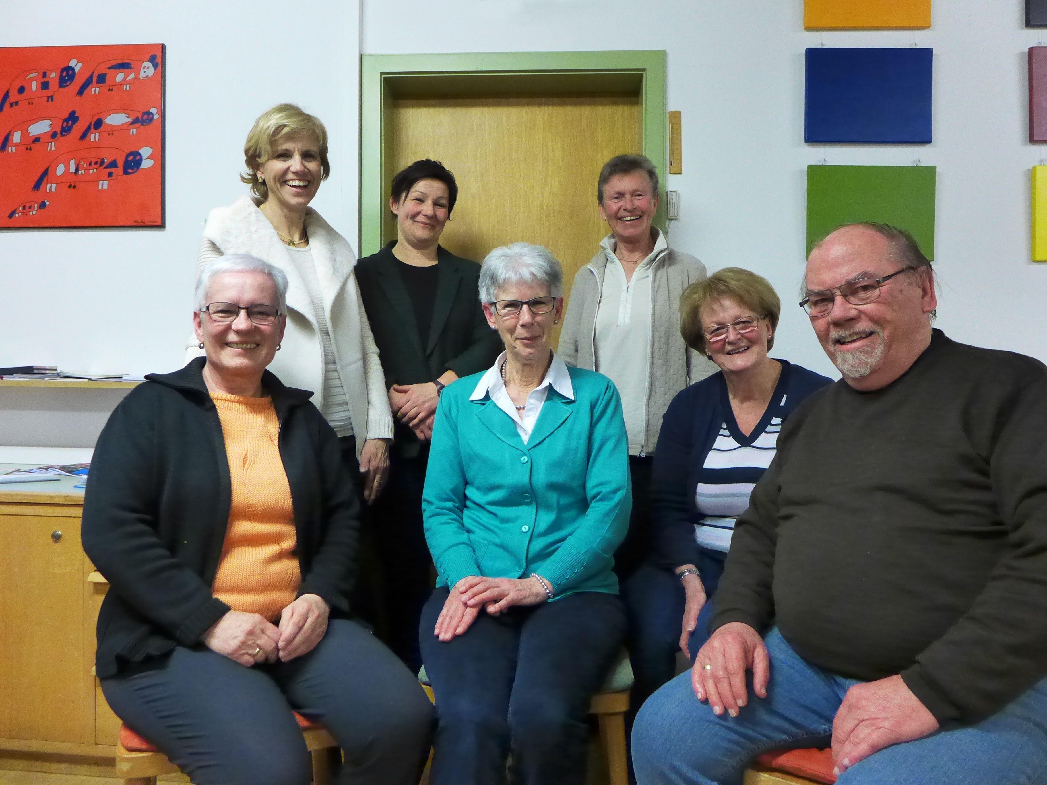 Das engagierte Team des Gesunden Lebensraums Gisingen bei der Vereinsgründung heuer.