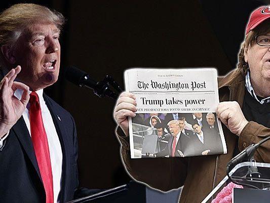 Michael Moore hat mit Trumps Wahlsieg recht, jetzt warnt er vor einem Staatsstreich in den USA.