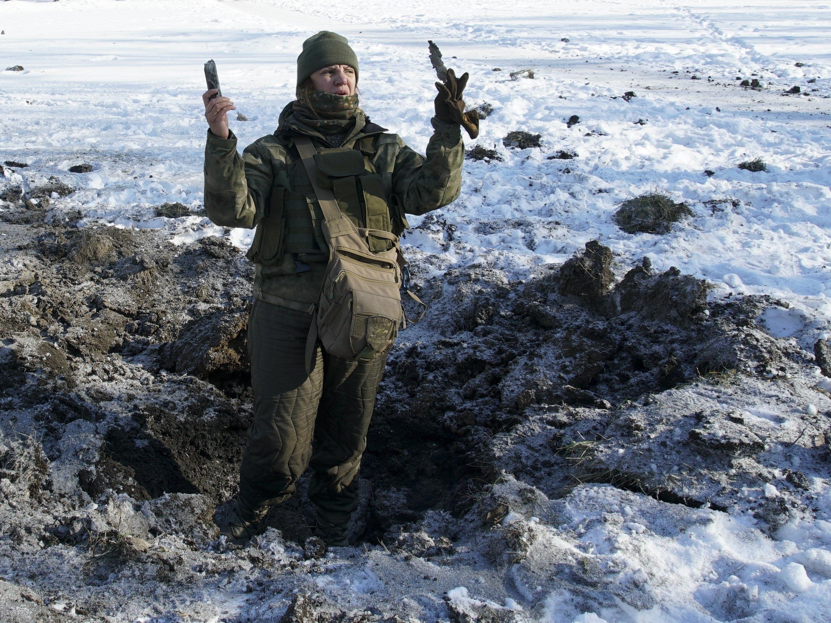 Die Zunahme der Kämpfe im Osten der Ukraine hatte am Wochenende begonnen.