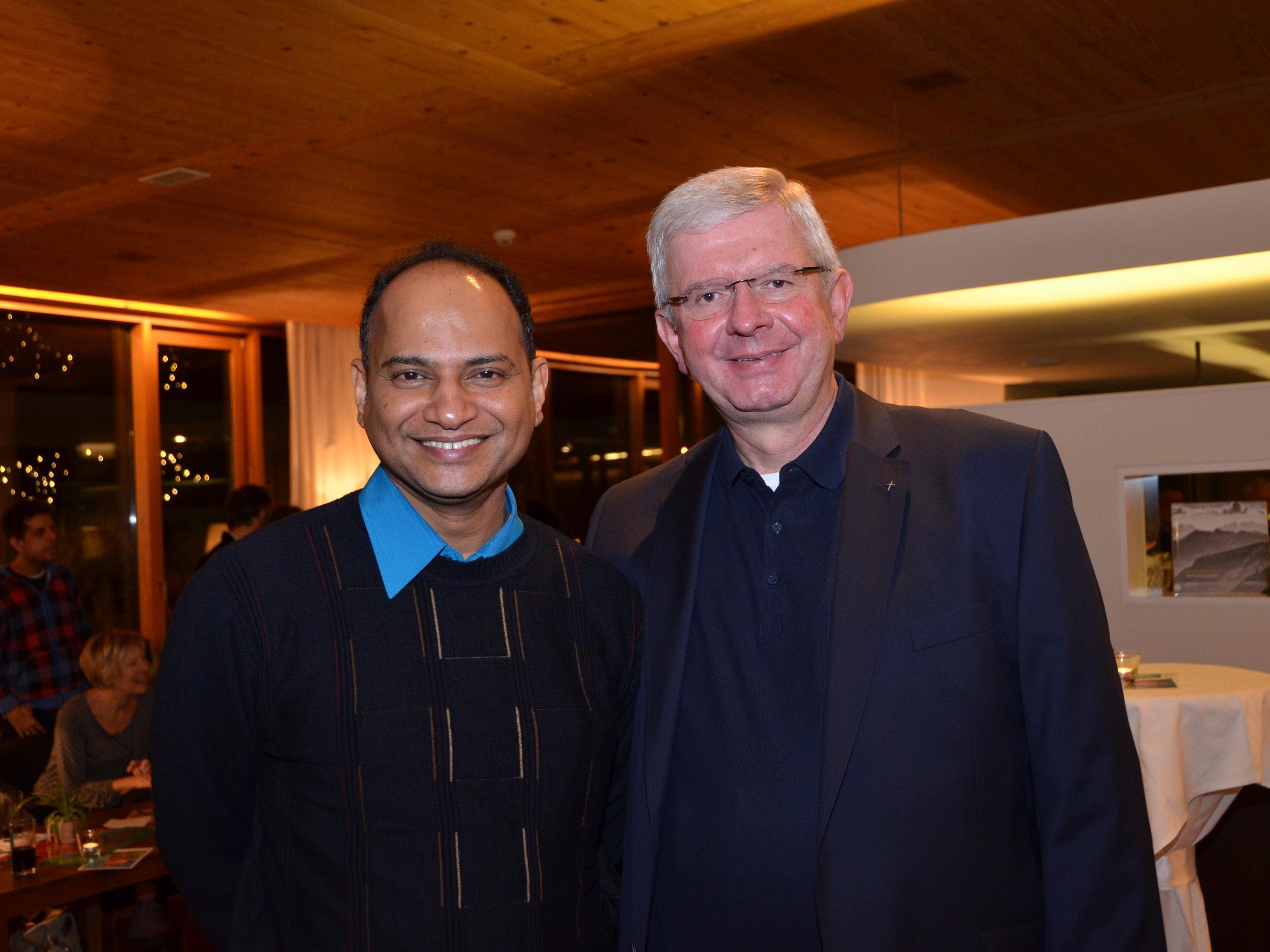Pfr. Jose Chelangara und Pater Adrian