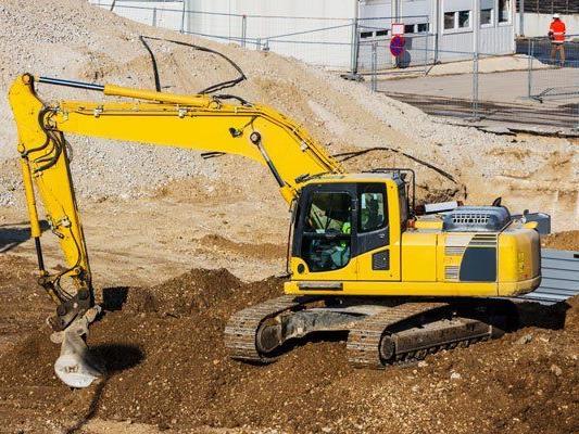 Bei Grabungsarbeiten in Wien-Floridsdorf wurde eine Panzergranate gefunden.