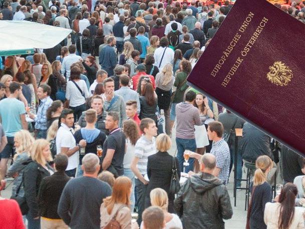 8.626 erhielten die österreichische Staatsbürgerschaft