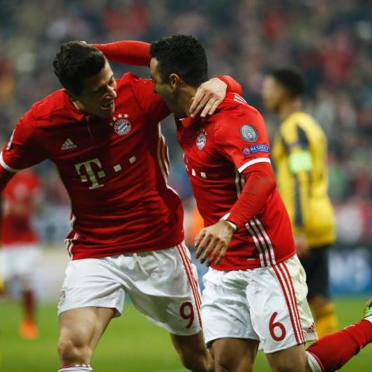 Die Bayern dürfen über 5 Tore jubeln