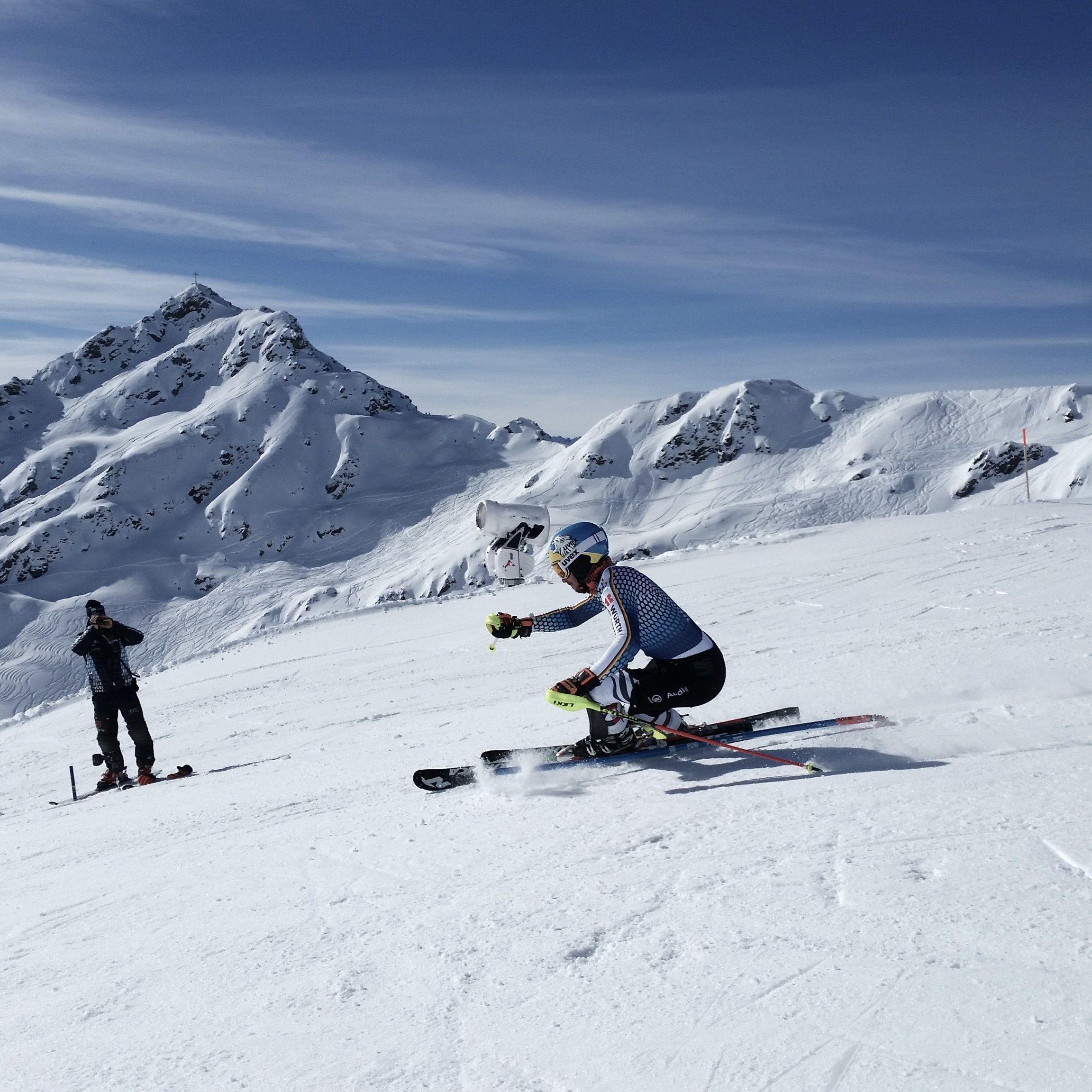 Das deutsche Technikteam bereitete sich in der Silvretta Montafon auf den WM-Slalom vor