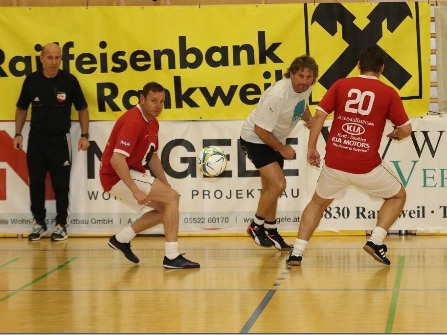 FC Dornbirn gewann das Rankweiler AH Turnier vor dem Hausherrn