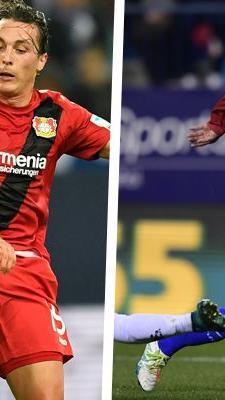 Bayer Leverkusen um Julian Baumgartlinger trifft in der Champions League auf Atletico Madrid.