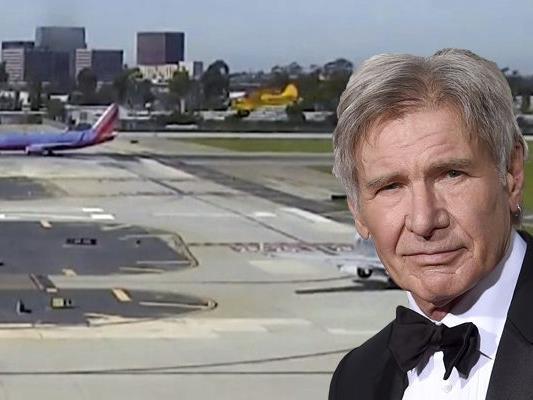 Harrison Ford hatte mit seinem Flugezug große Probleme beim Landen.