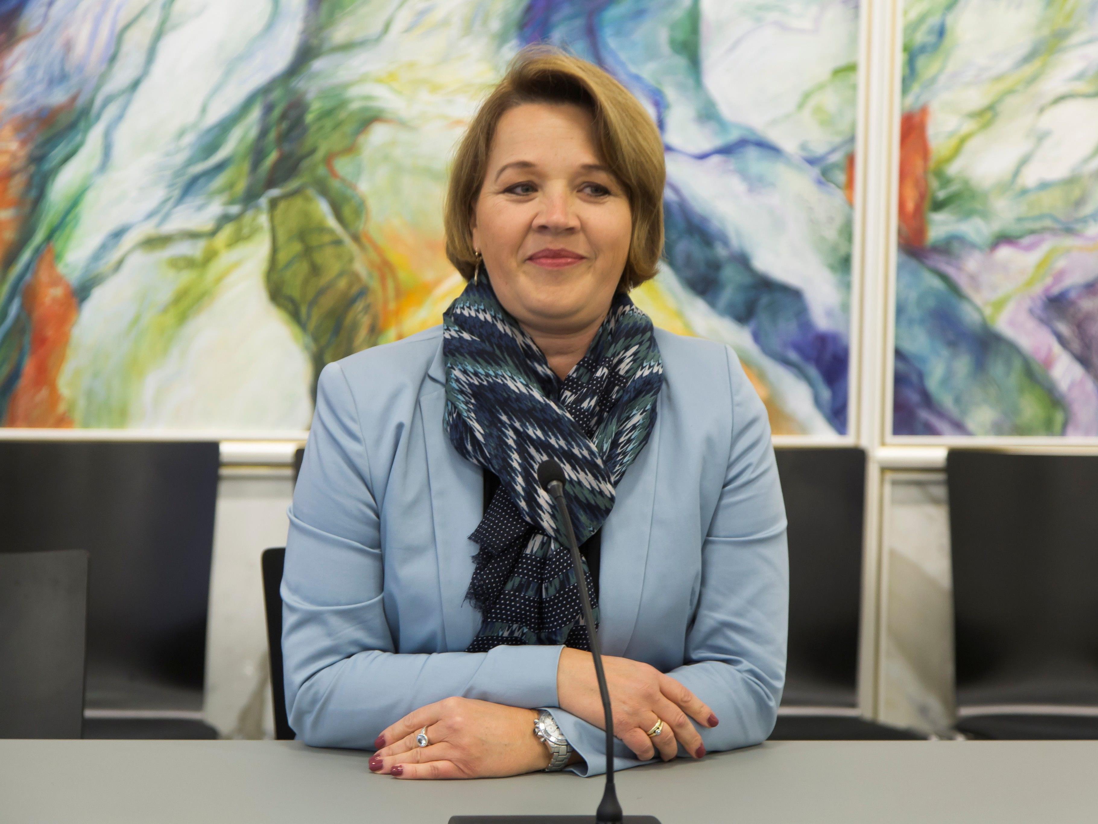 Die Dornbirner Bürgermeisterin Andrea Kaufmann musste nach einem Skiunfall in Damüls ins Spital.