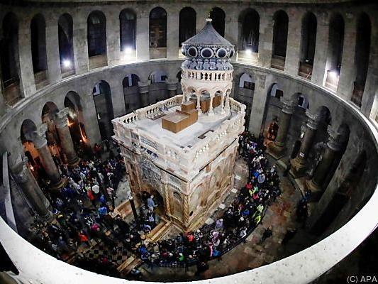 Streit zwischen Kirchen verhinderte lange Zeit Restaurierung