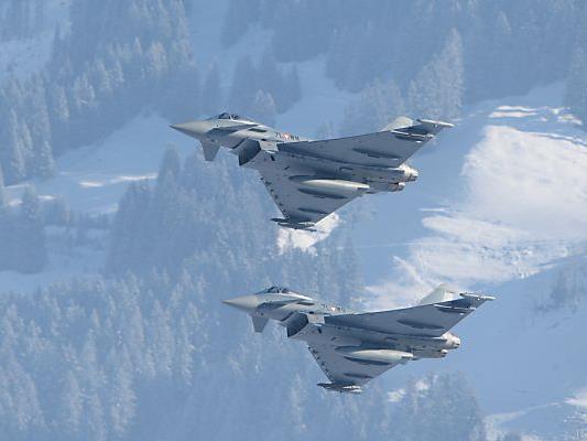 Umstrittene Eurofighter beschäftigen wieder das Parlament