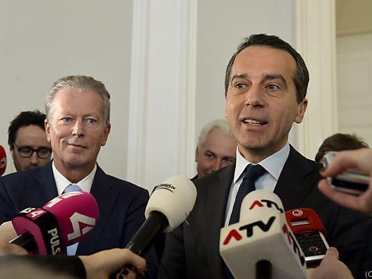 Kern will Brüssel überzeugen
