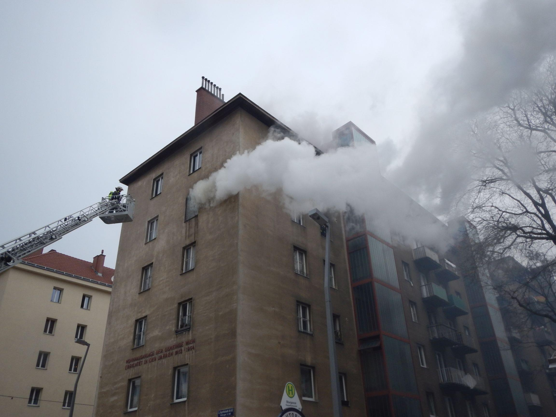 Nach 15 Minuten war der Brand gelöscht.