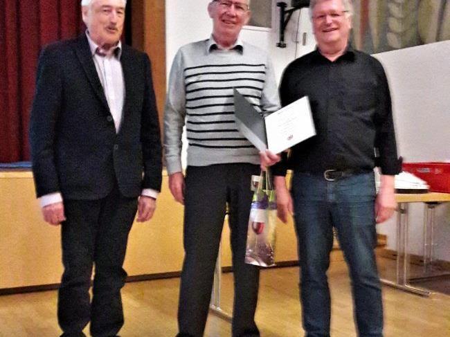 Silbernes Ehrenzeichen für Ludwig Haack