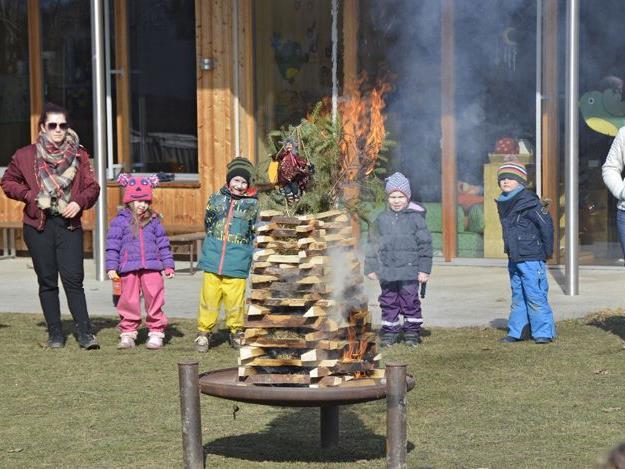 Funken im Kindergarten Meiningen