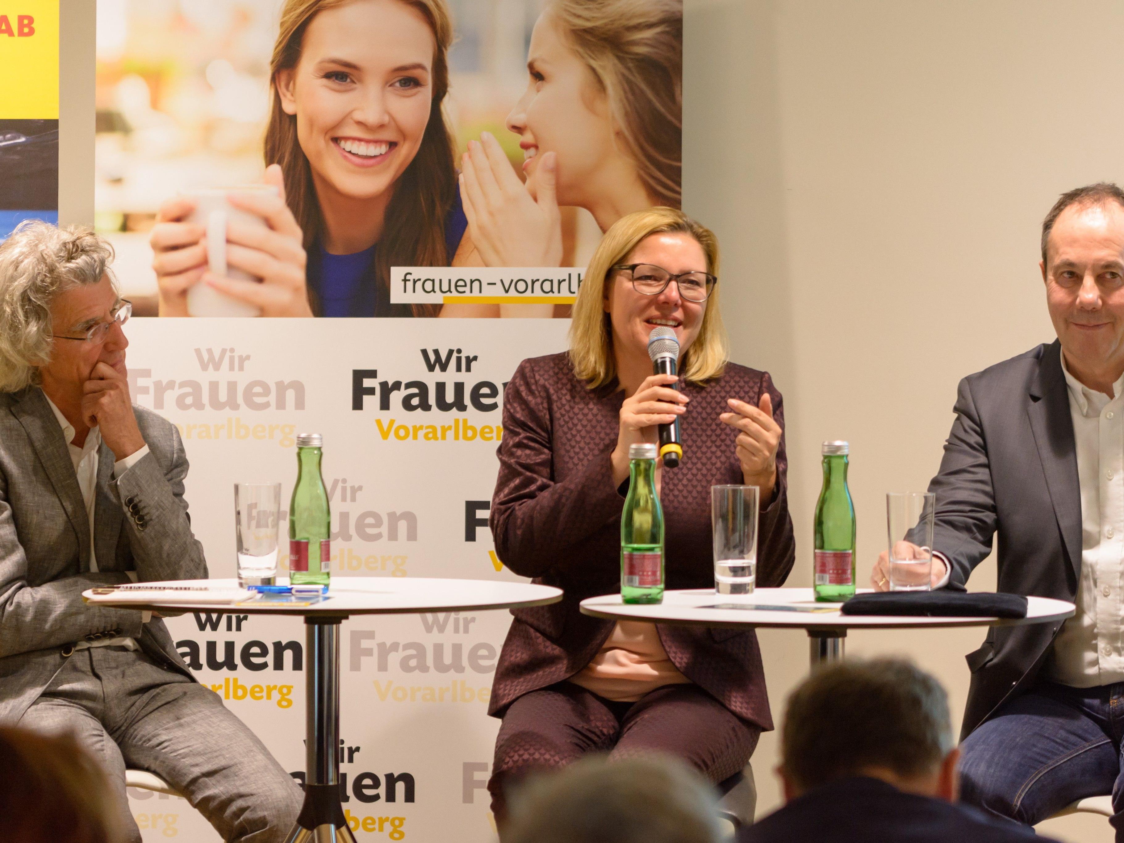OMR Dr. Klaus Zitt, MMag. Dr. Kathrin Stainer-Hämmerle, Mag. Andreas Prenn