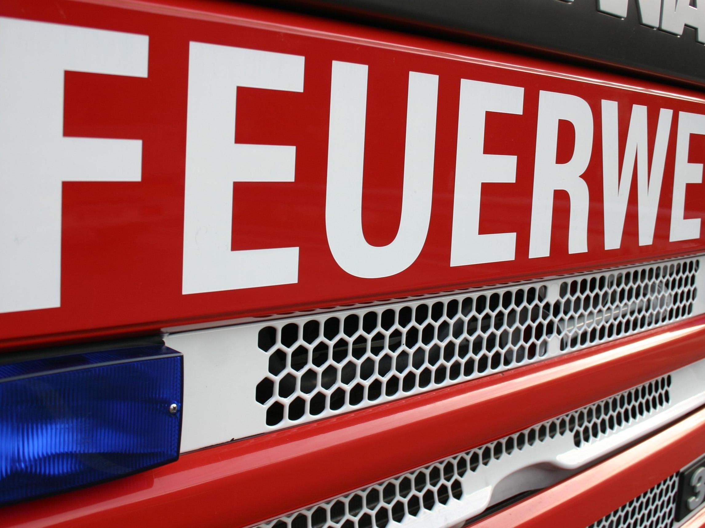 Eine defekte Gastherme sorgte für einen Feuerwehreinsatz in Bregenz.