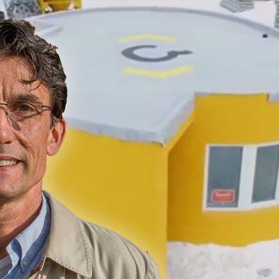 Wilfried Hefel von Hefel Wohnbau AG kann sich 3D-Drucker in Vorarlbergs Bauwesen gut vorstellen.