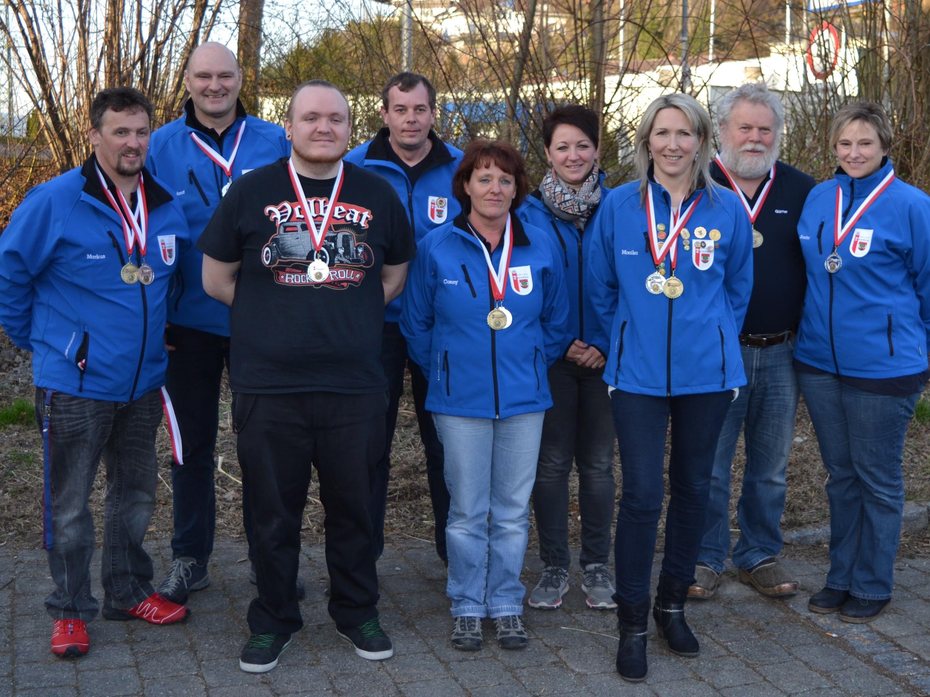 Markus,Helmut,Stefan,Loli,Günter,Sandra,Fabian,Conny,Monika