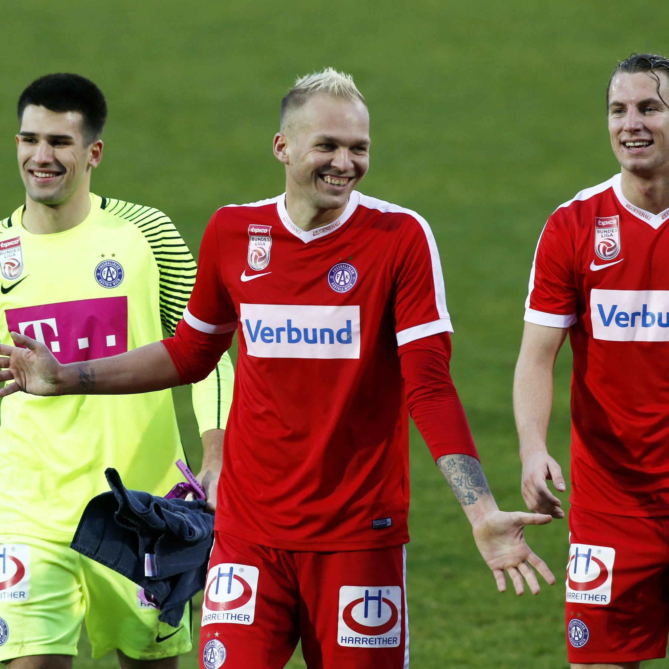 LIVE-Ticker zum Spiel Austria Wien gegen WAC ab 18.30 Uhr.