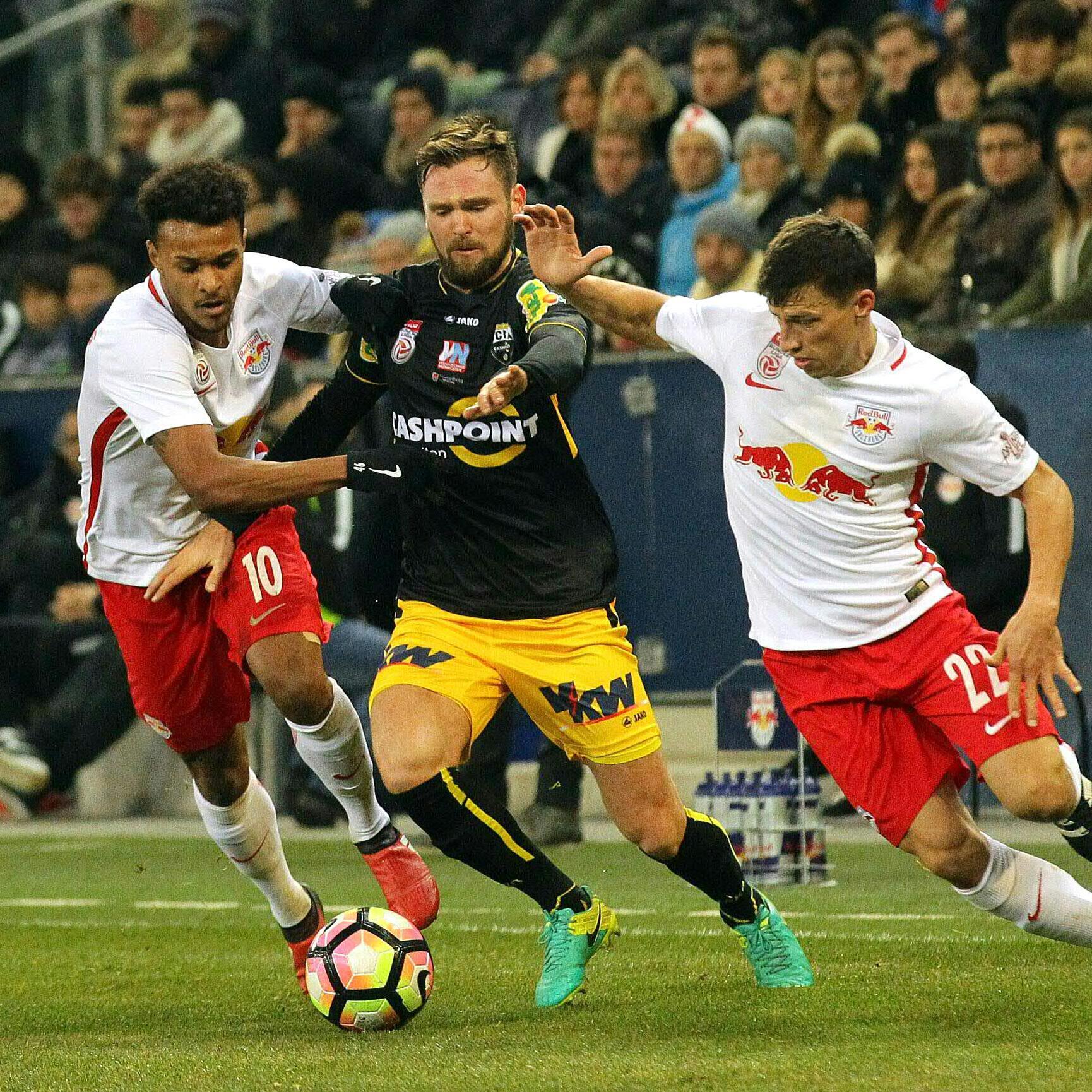 LIVE-Ticker zum Spiel SCR Altach gegen Red Bull Salzburg ab 16.30 Uhr.