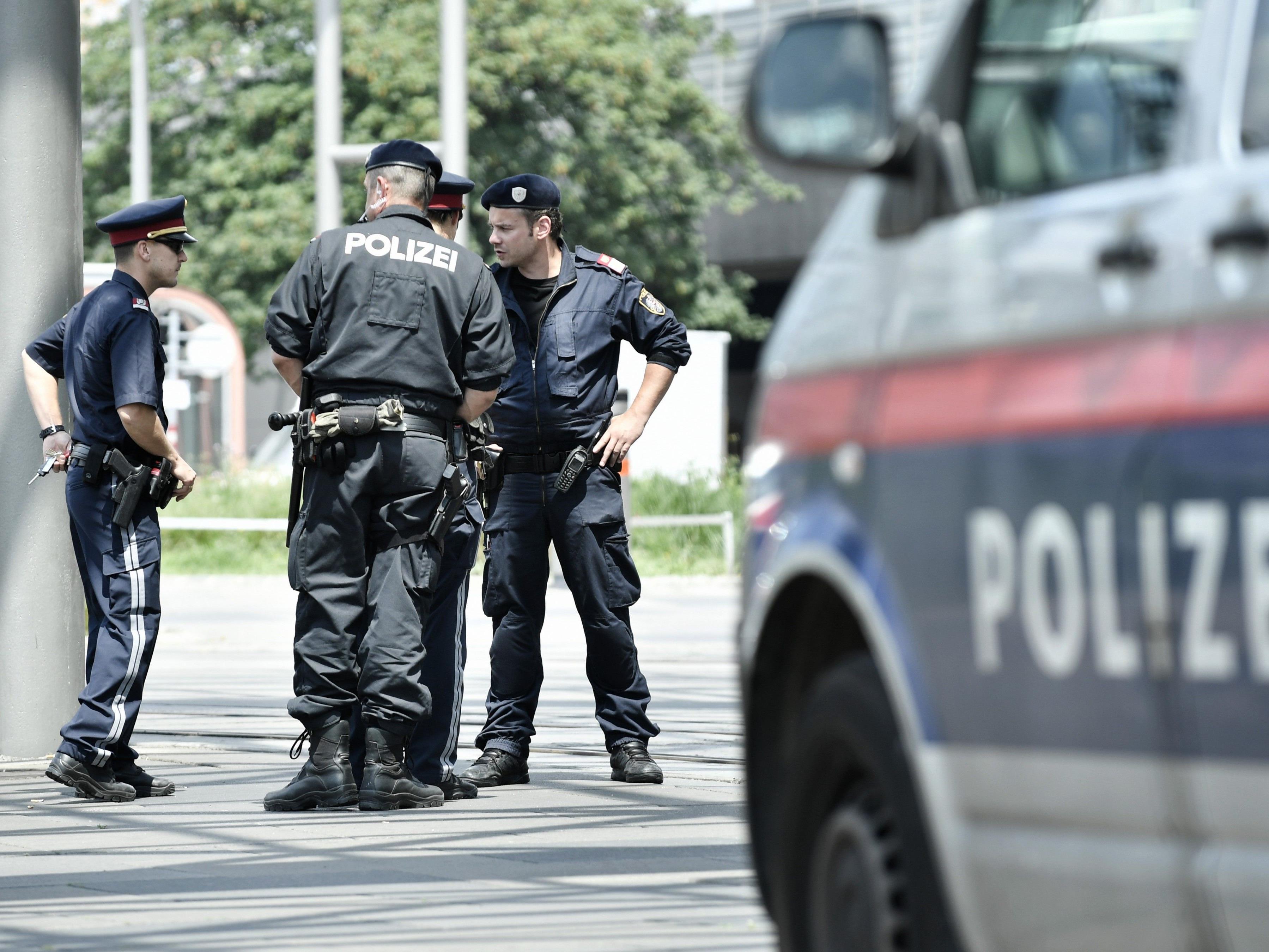 Der aggressive 21-jährige wurde festgenommen.