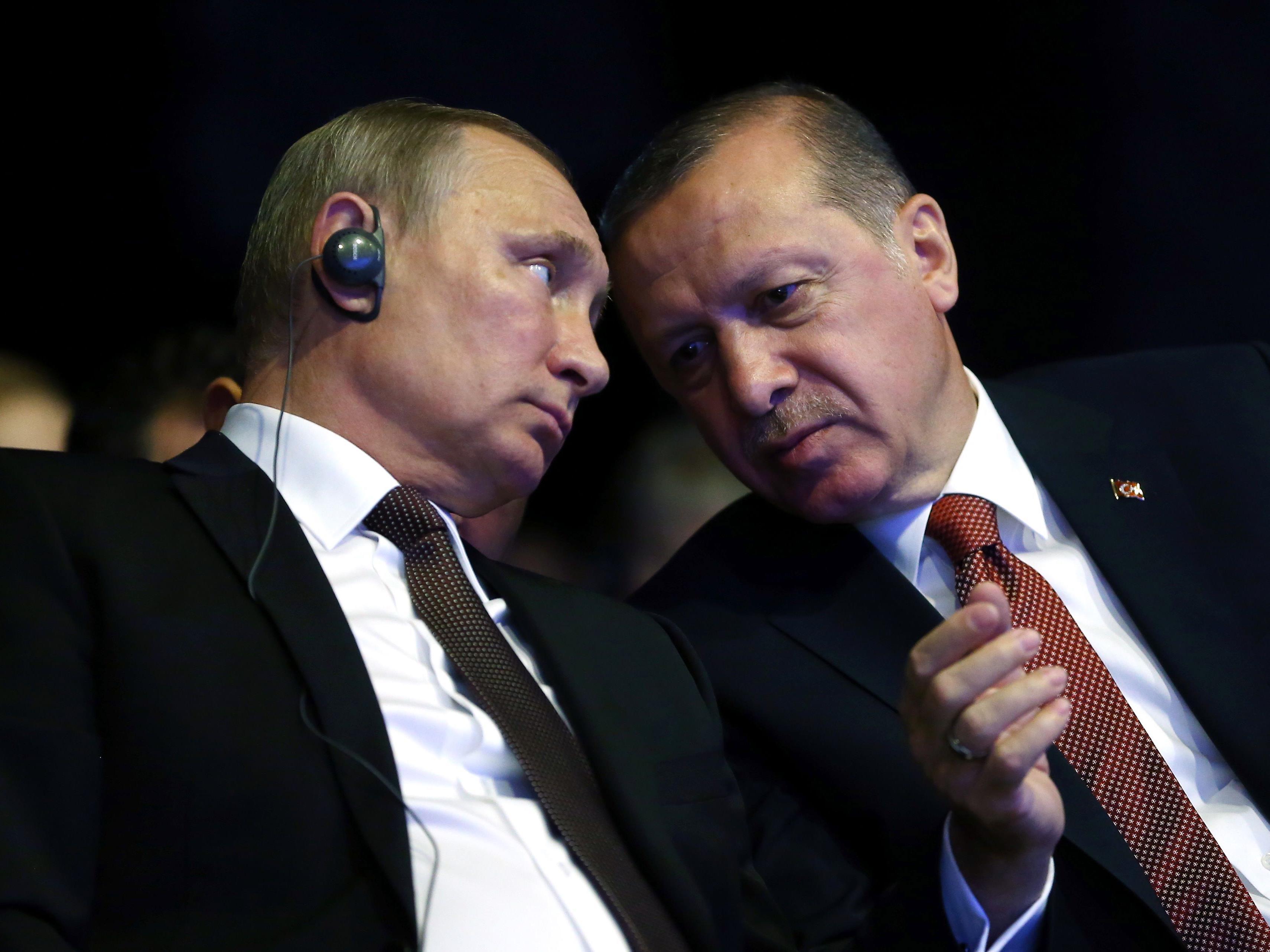 Längst scheint die Eiszeit zwischen Russland und der Türkei vergessen.
