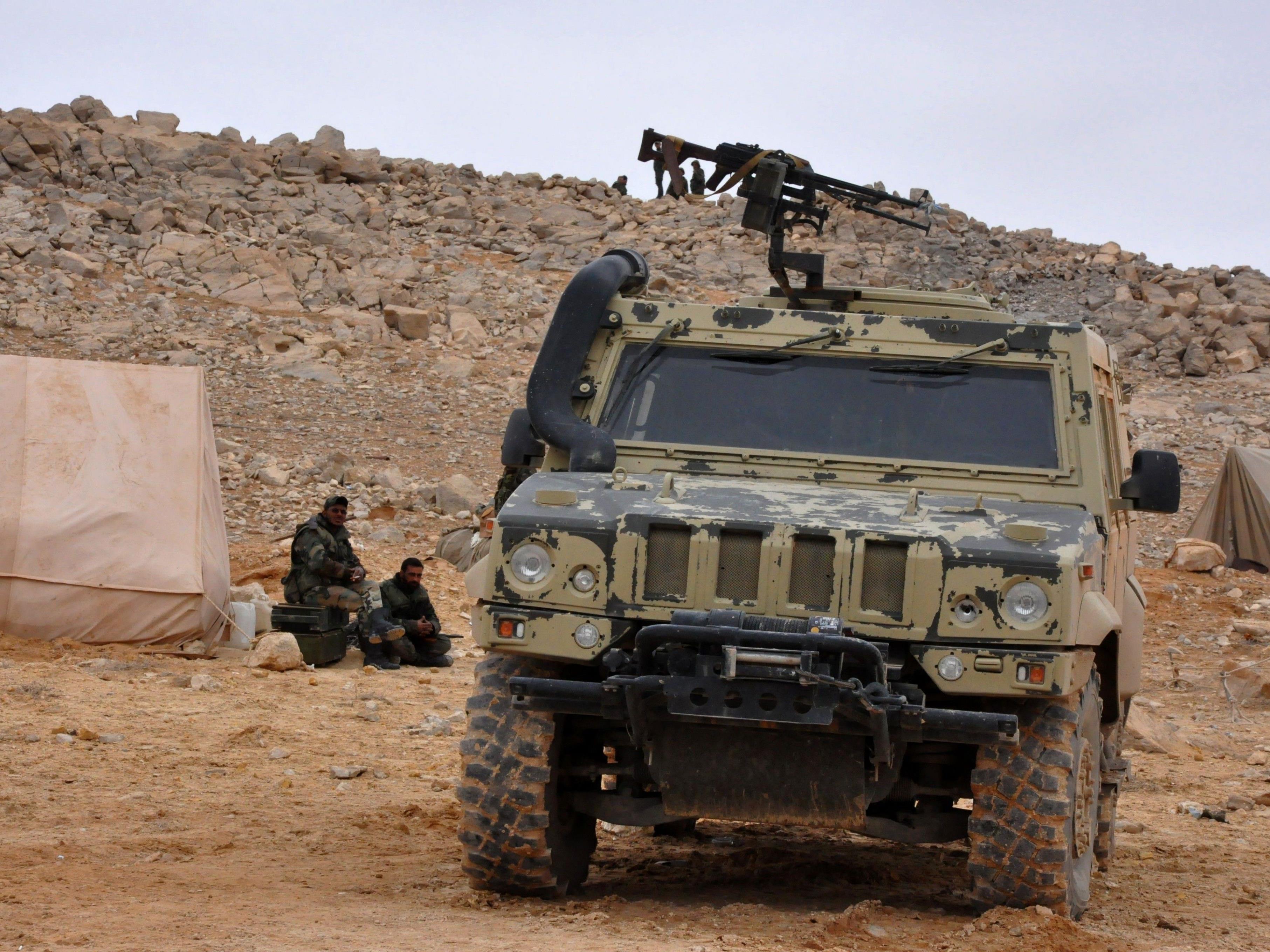 Palmyra fällt wieder an SAA.