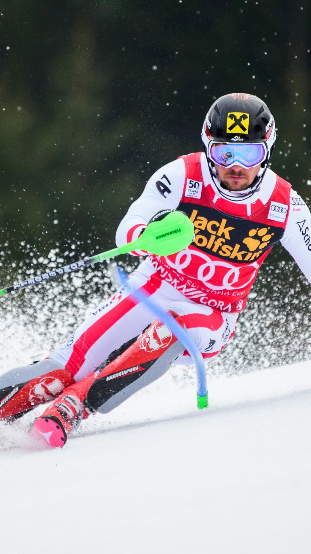 Rang vier reicht für die Slalom-Kugel